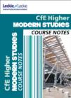 Image for CfE higher modern studies