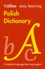 Image for Collins Easy Learning Polish Dictionary