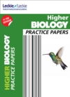 Image for Higher biology practice papers for SQA exams