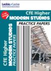 Image for CfE higher modern studies practice papers for SQA exams
