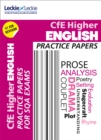 Image for Higher English practice papers for SQA exams
