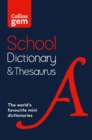 Image for Collins school dictionary & thesaurus