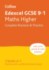 Image for Edexcel GCSE maths higher tier  : new 2015 curriculum: All-in-one revision and practice