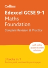 Image for Edexcel GCSE maths foundation tier  : new 2015 curriculum: All-in-one revision and practice