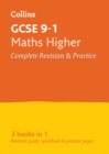 Image for GCSE maths higher tier  : new 2015 curriculum: all-in-one revision and practice