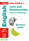 Image for AQA GCSE poetry anthology  : new 2015 curriculum: Love and relationships