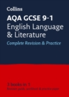 Image for AQA GCSE English language and English literature  : new 2015 curriculum: All-in-one revision practice