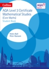Image for Collins AQA core mathsLevel 3 mathematical studies,: Student book