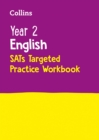 Image for Year 2 English KS1 SATs Targeted Practice Workbook : For the 2021 Tests