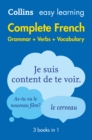 Image for Easy learning complete French grammar, verbs and vocabulary
