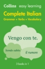 Image for Easy learning complete Italian grammar, verbs and vocabulary