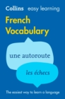 Image for Easy learning French vocabulary.
