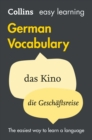 Image for Easy learning complete German grammar, verbs and vocabulary.