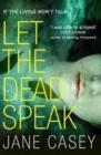 Image for Let the dead speak