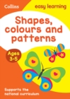 Image for Shapes, colours and patternsAges 3-5