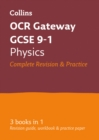 Image for OCR Gateway GCSE physics  : all-in-one revision and practice