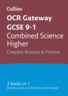 Image for OCR gateway GCSE combined science  : all-in-one revision and practiceHigher