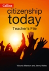 Image for Edexcel GCSE citizenship: Teacher's file