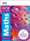 Image for GCSE maths foundation in a week