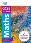 Image for GCSE maths in a week: Higher