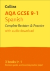 Image for AQA GCSE Spanish all-in-one revision and practice