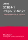Image for GCSE religious studies  : all-in-one revision and practice