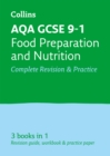 Image for AQA GCSE food preparation and nutrition  : all-in-one revision and practice