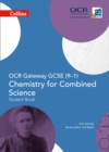 Image for OCR gateway GCSE (9-1) chemistry for combined science: Student book