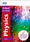 Image for A-level physics Year 2 in a week