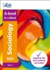 Image for AQA A-level sociologyYear 2