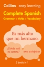 Image for Collins easy learning complete Spanish: grammar + verbs + vocabulary