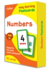 Image for Numbers Flashcards : Reception Maths Home Learning and School Resources from the Publisher of Revision Practice Guides, Workbooks, and Activities.