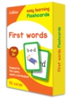 Image for First Words Flashcards : Reception English Home Learning and School Resources from the Publisher of Revision Practice Guides, Workbooks, and Activities.
