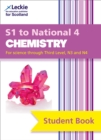Image for Secondary chemistry  : S1 to National 4,: Student book