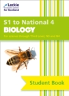 Image for Secondary biologyS1 to National 4: Student book