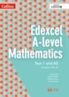 Image for Edexcel A-level mathematics student book year 1 and asYear 1 and AS,: Student book