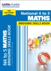 Image for National 4 to 5 maths  : bridging skills book