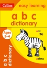 Image for ABC dictionary ages 3-4