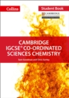 Image for Cambridge IGCSE co-ordinated sciences chemistry student book