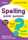 Image for Spelling quick quizzes: Ages 7-9