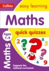 Image for Maths quick quizzes: Ages 7-9