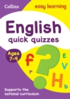 Image for English quick quizzes: Ages 7-9