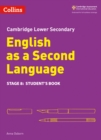 Image for Cambridge checkpoint English as a second languageStage 8,: Student book