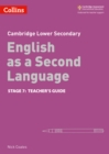 Image for Cambridge Checkpoint EnglishStage 7,: Teacher guide