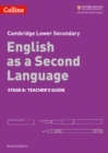 Image for Cambridge checkpoint English as a second languageStage 8,: Teacher guide