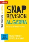 Image for Algebra  : Edexcel GCSE maths foundation