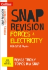 Image for Forces & electricity  : AQA GCSE physics