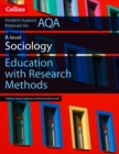 Image for AQA A level sociology education with research methodsAS paper 1, A level paper 1
