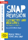 Image for Geometry and measures (for papers 1, 2 and 3)  : Edexcel GCSE maths Higher