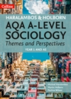 Image for AQA A-level sociology themes and perspectivesYear 1 and AS,: Student book